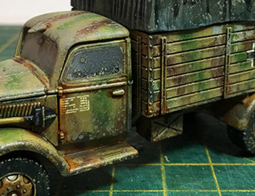 Warlord Opel Blitz 1/56 Scale Truck