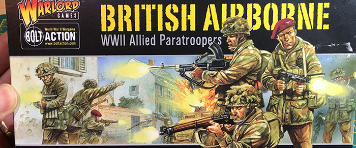 Warlord Plastic British Airborne Unboxing